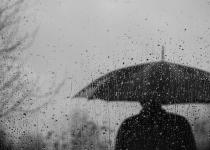 Man in te rain