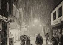 Sneeuw in Winterswijk